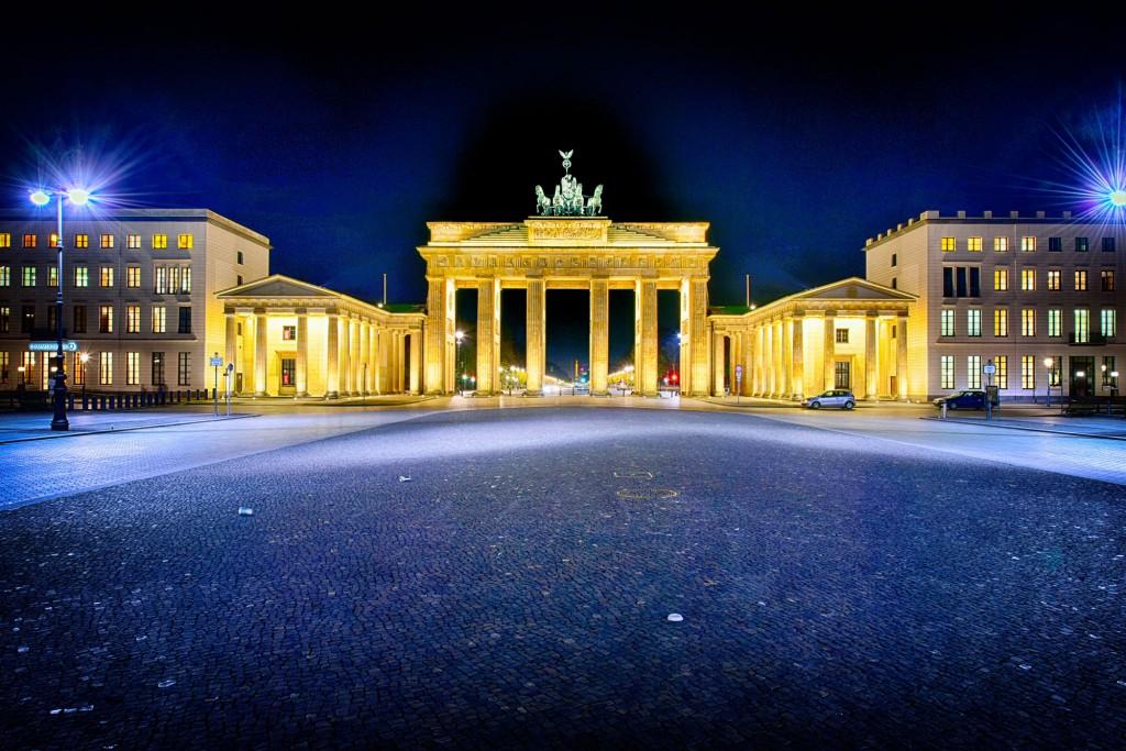 Fototouren Berlin bei Nacht am Brandenburger Tor