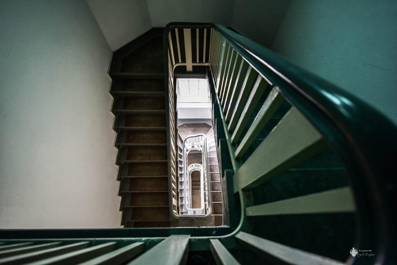 Neue Hakeburg Treppenhaus zum Turm