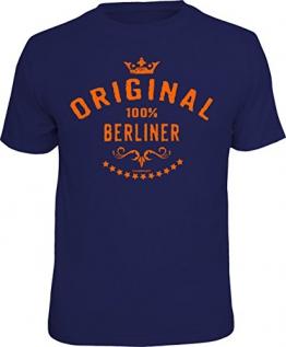 Das T-Shirt für den echten Berliner: Original 100 % Berliner Größe XXL - 1