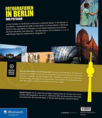 Fotografieren in Berlin und Potsdam: Der neue Reiseführer für Hobbyfotografen - Vom Brandenburger Tor bis Sanssouci - mit Detailkarten und zahlreichen Tipps - 2