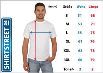 Shirtstreet24, Skyline Berlin, Berlin City Dickes B Städte Herren T-Shirt Fun Shirt Funshirt, Größe: M,dunkelblau - 5