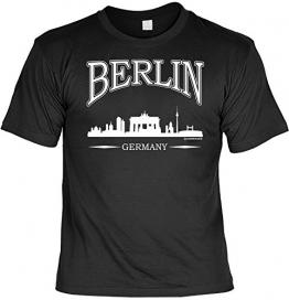 T-Shirt mit Urkunde - Berlin Germany - Lustiges Sprüche Shirt als Geschenk für echte Berliner mit Humor - 1